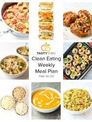 clean eating meal plan tastythin
