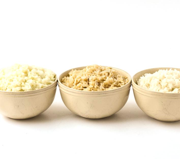 instant pot rice 3 ways