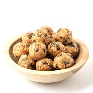 no bake peanut butter chocolate oat bites